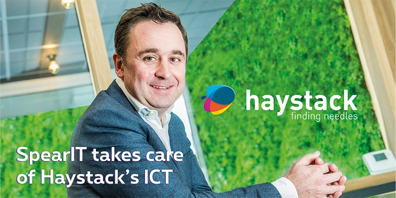 SpearIT takes care of Haystack's complete IT