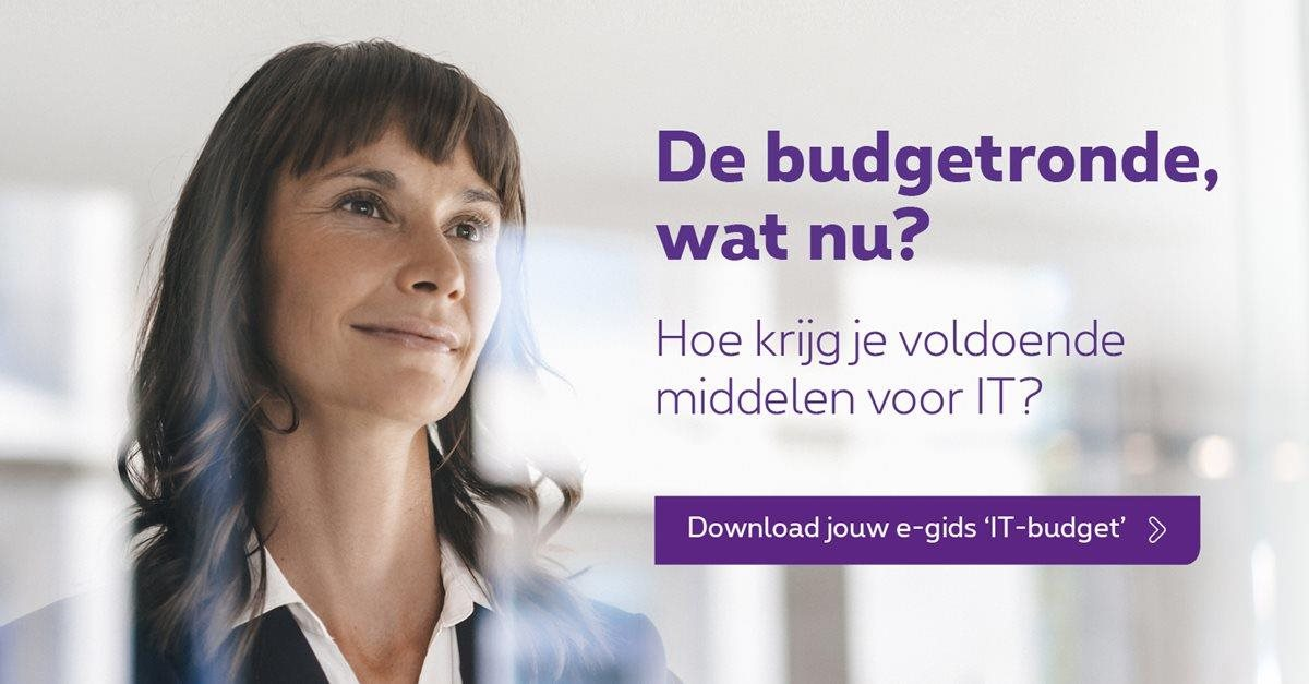 Download je e-gids over het IT-budget